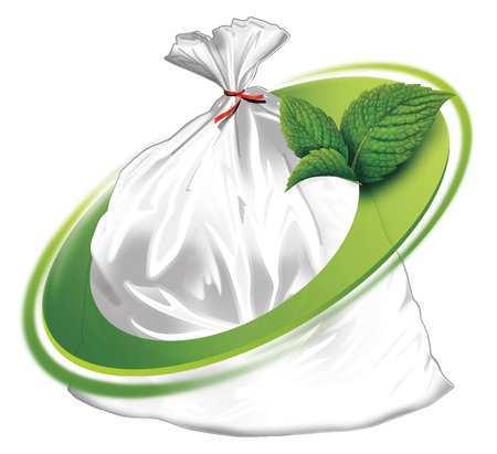 Trash Bag, 60 Gal., Lldpe, Clear, Pk100