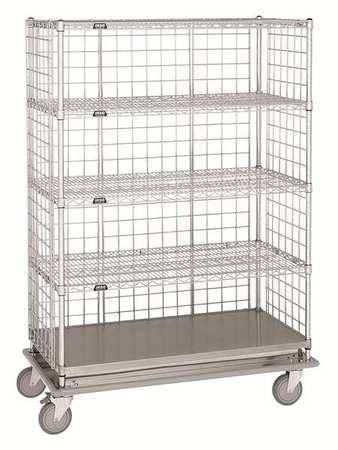 Value Brand Wire Cart 24 In. W 60 In. L Steel Type LCH-2460C