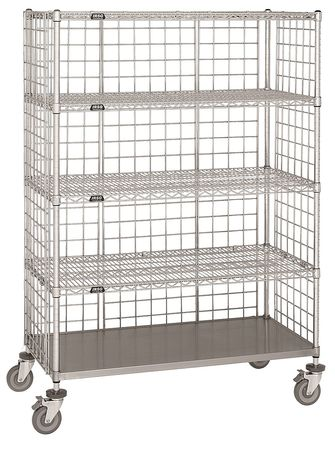 Value Brand Wire Cart 24 In. W 60 In. L Steel Type LC-2460C