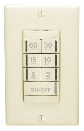 Timer Switch 60 Min Ivory by USA Acuity Electronic Timers