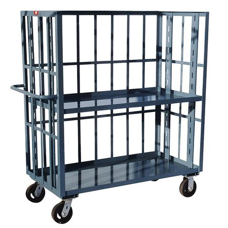 Value Brand Slat Cart 3000 lb. 2 Shelf 36 in. L