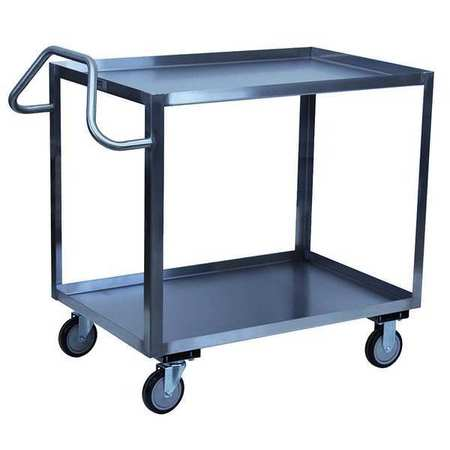 Value Brand Utility Cart SS 36 Lx19 W 1200 lb. Cap. Type XS130-U5