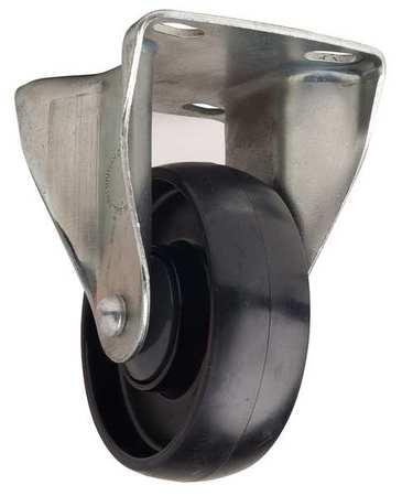 Value Brand Plate Caster Rigid Nylon 4 in. 330 lb.