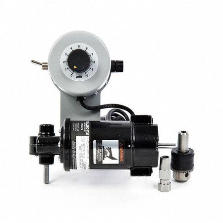 Overhead Mixer,6.5x8.5x7 In,1/18 Hp
