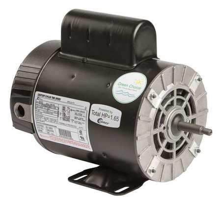 Pool Motor 1 1/10 HP 3450/1725 RPM 230V Model B2232 by USA Century Pool Pump Motors