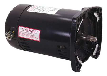 Pool Motor 1 HP 3450 RPM 208 230/460VAC by USA Century Pool Pump Motors