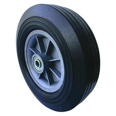 Value Brand Solid Rubber Wheel 10 in. Dia. 550 lb.