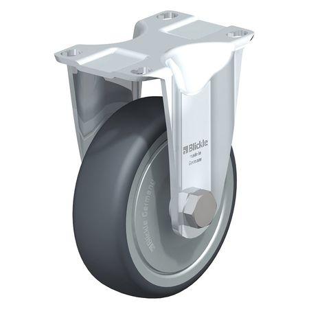 "Blickle Rigid Plate Caster TPR 5"" 275 lb."