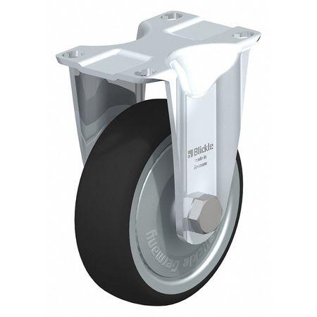 "Blickle Rigid Plate Caster PU 4"" 400 lb."