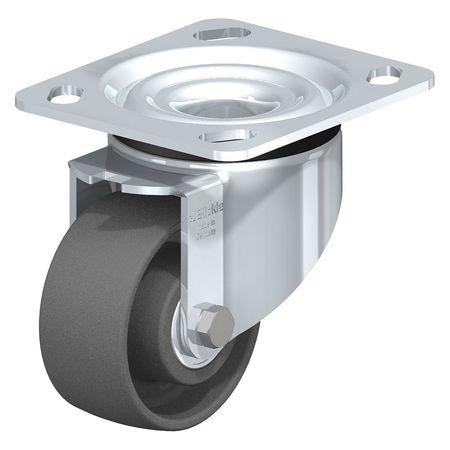 """Blickle Swivel Plate Cstr Gy Nyln 3-1/8"""" 350 lb."""