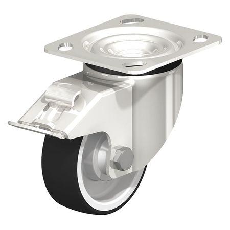 "Blickle Swivel Plate Caster PU 4"" Brake Type LKX-POTH 100KD-14-FI"