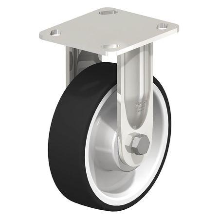 "Blickle Rigid Plate Caster PU 6"" 660 lb. Type BESX-POTH 150XK-14"