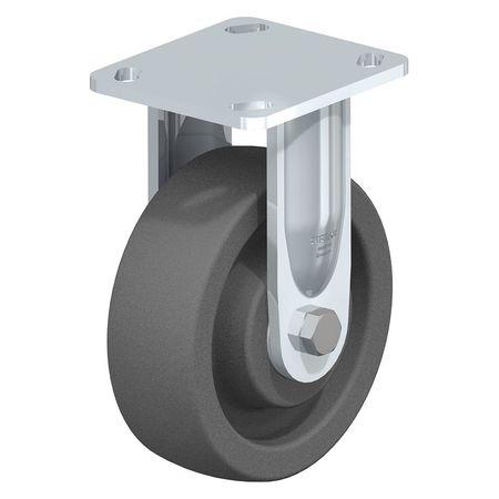"Blickle Rigid Plate Caster Gry Nylon 8"" 1250 lb."