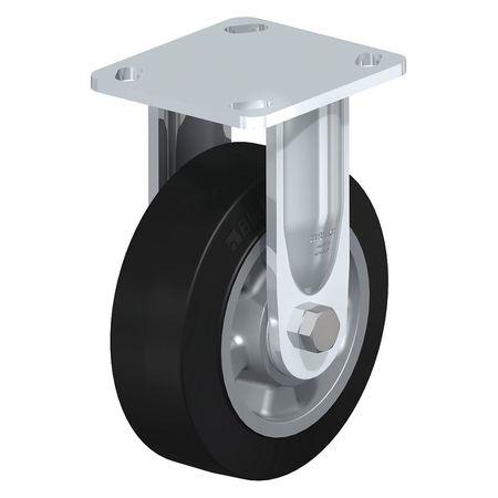 "Blickle Rigid Plate Caster Solid Rbr 8"" 1100 lb."