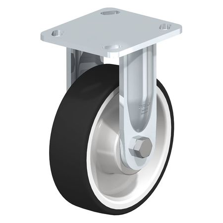 "Blickle Rigid Plate Caster PU 8"" 1250 lb."