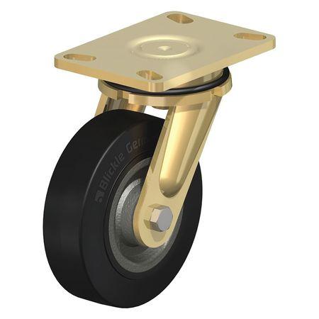 """Blickle Swvl Plt Castr Solid Rbr 6-5/16"""" 700 lb."""