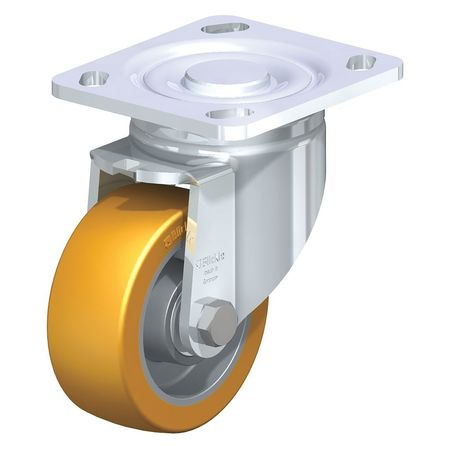 "Blickle Swivel Plate Caster PU 3-1/8"" 400 lb."