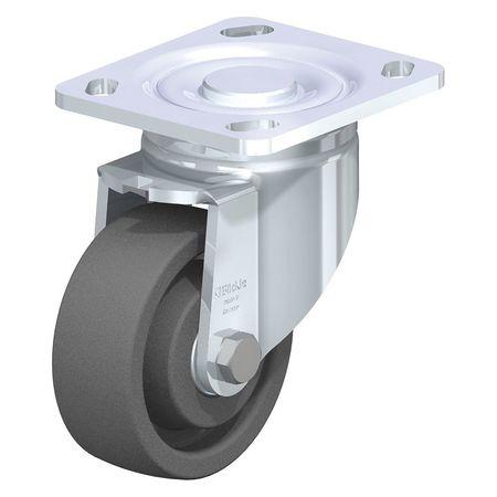 "Blickle Swivel Plate Caster Gry Nyln 4"" 1100 lb."