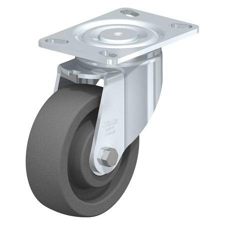 "Blickle Swivel Plate Caster Gry Nyln 6"" 1760 lb."