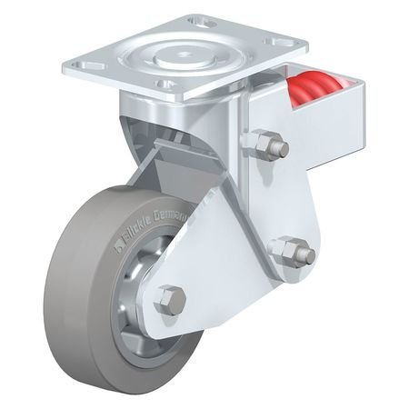 """Blickle Swivel Plate Caster Solid Rbr 6"""" 880 lb. Type LHF-ALEV 150K-16-SG"""