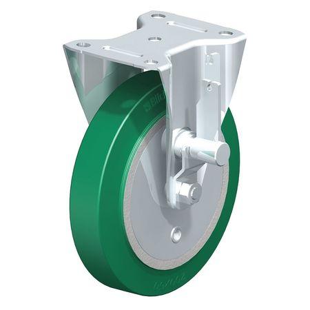 "Blickle Rigid PU Wheel Caster 8"" Brake"
