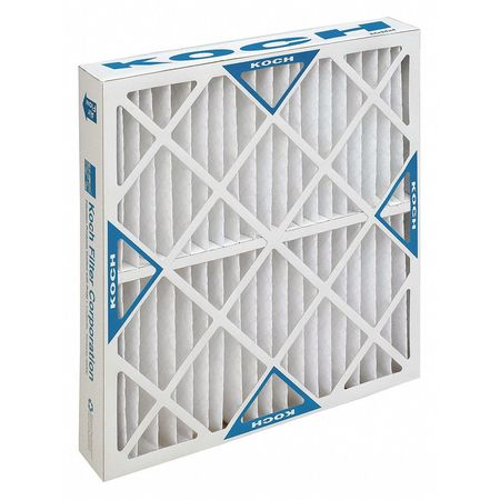 Capacity Xl8 Pleated Panel Ext Surface 24w X 24h X 6d Lot of 2 KochTM Filter 102-700-041 Std Merv 8