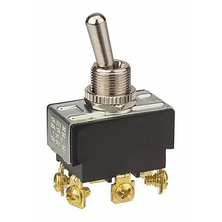 Toggle Switch Bat Dpdt On Screw Term by USA NSI Electrical Toggle Switches