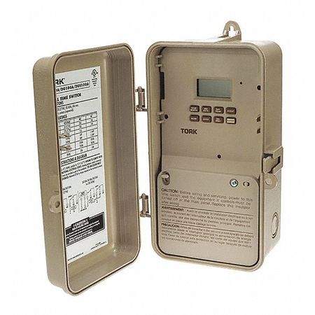 Digital Timer 2Ch Title 24 365 Day by USA Tork Electrical Plug In & Wall Switch Timers
