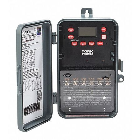 Astronomic Time Switch 2 Channel 7 Day by USA Tork Electrical Plug In & Wall Switch Timers