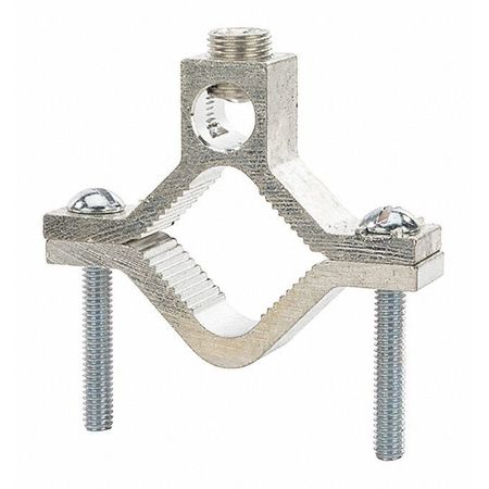 """Ground Clamp Alum 1 1/4 2"""" PK10 by USA NSI Electrical Ground Rods & Clamps"""