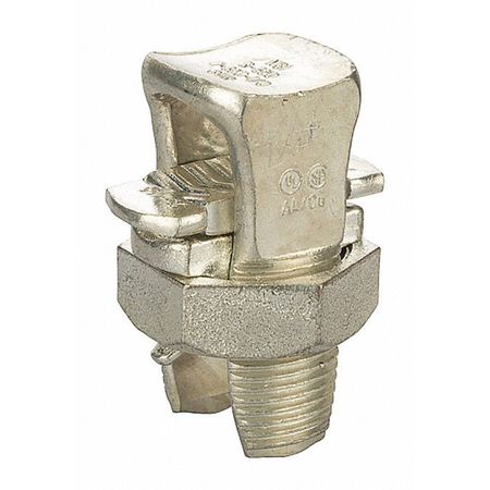 Copper Split Bolt 350 Tin Plated PK4 by USA NSI Electrical Wire Split Bolt Connectors