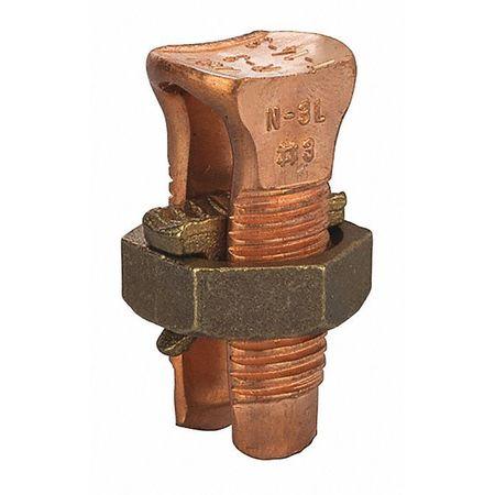 Copper Split Bolt 3 3 Wire PK40 by USA NSI Electrical Wire Split Bolt Connectors