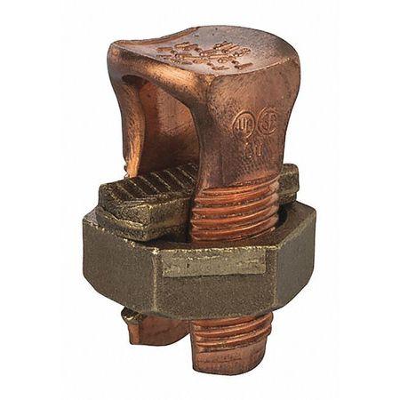 Copper Split Bolt 2/0 PK15 by USA NSI Electrical Wire Split Bolt Connectors