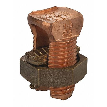 Copper Split Bolt 3 PK50 by USA NSI Electrical Wire Split Bolt Connectors