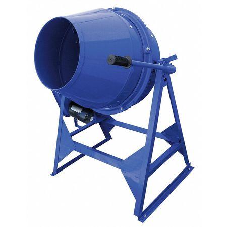 Concrete Mixer,3 Cu. Ft.,electric,1/2hp