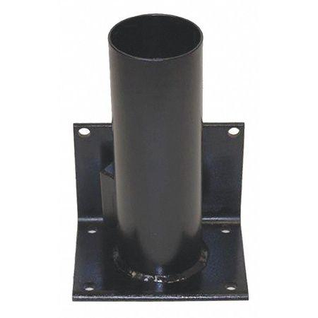 Calpipe Storage Rack Cap. 1 7 In Removable Black