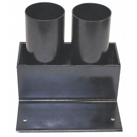 Calpipe Storage Rack Cap. 2 7 In Lockable Black