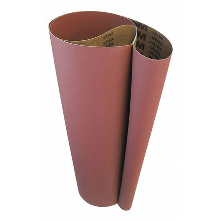 VSM 87527 Abrasive Belt Blue 50 Grit Cloth Backing Zirconia 132 Length 6 Width Pack of 10 Coarse Grade