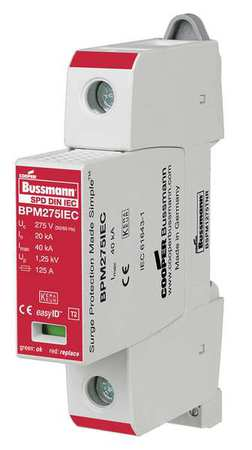 Surge Protection Device 1 Phase 600V by USA Bussmann Electrical Surge Protection Devices