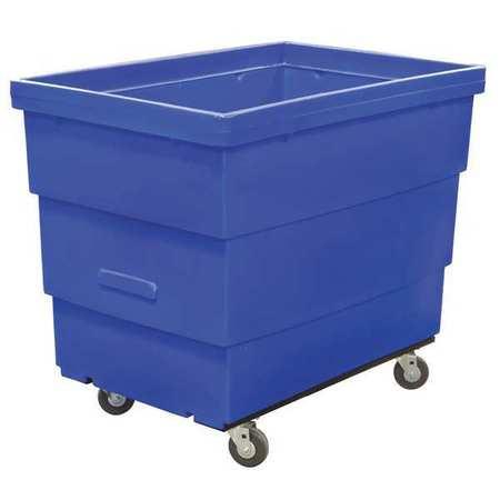 Value Brand Cube Truck 7/16 cu. yd. 800 lb. Cap Blue