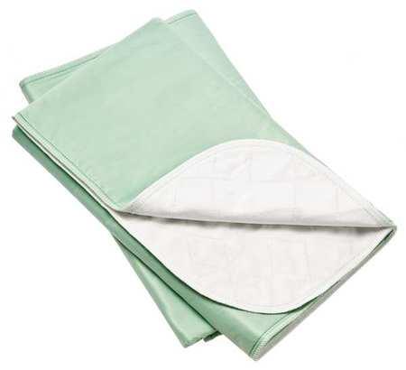 Mattress Underpad,standard,green,pk12