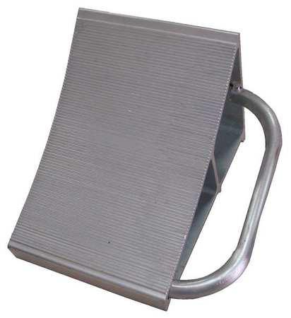 Value Brand Wheel Chock Alum W 7 In H 8 In