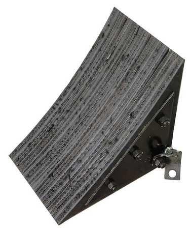 Value Brand Wheel Chock Rubber W 11-1/8 In H 13-3/4