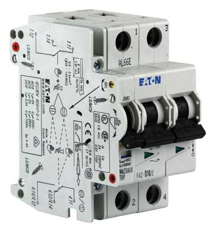 Auxiliary Contact 2A FAZ Breakers by USA Eaton Circuit Breaker Accessories