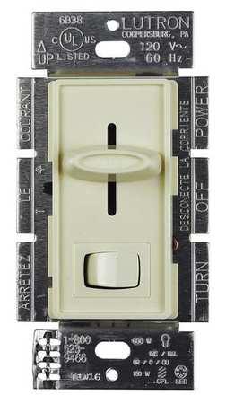 Lighting Dimmer Rocker/Slide Almond by USA Lutron Electrical Lighting Dimmers