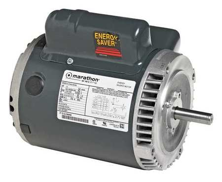 General Purpose Motor 1/3 HP 120/240V by USA Marathon General Purpose 3 Phase AC Motors