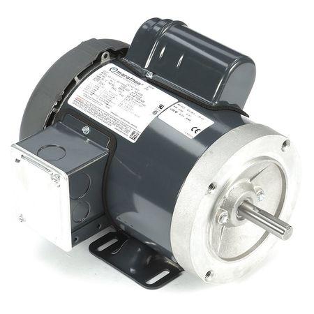 GP Motor Cap Strt 3/4 HP 115/208 230 V by USA Marathon General Purpose Capacitor Start AC Motors