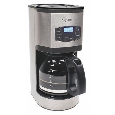 Single Cup Coffee Maker No Plastic : Capresso Single Coffee Maker, 12 Cup, Plastic/Stainless Steel/Glass 494.05 Zoro.com