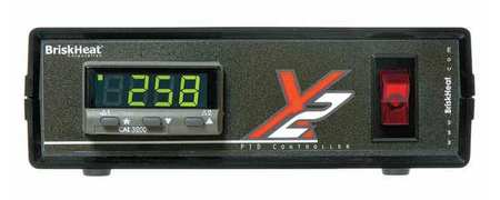 Temperature Controller Digital J Sensor by USA Briskheat Industrial Automation Temperature Controllers