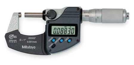 Mitutoyo Electronic Micrometer 1 In Cert